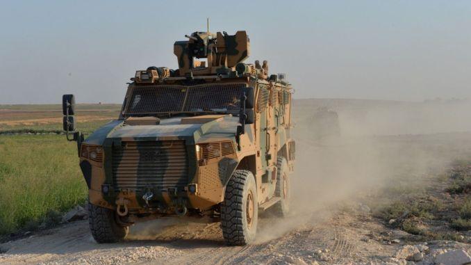 襲擊土耳其武裝部隊的裝甲車的交付仍在繼續