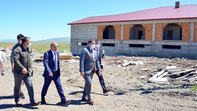 Governor Huseyin Oner made observations at the ski center