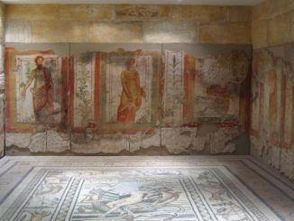 Die Geschichte und Geschichte der antiken Stadt Zeugma