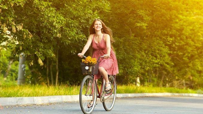 Đào tạo đi xe đạp cho nữ từ IMM