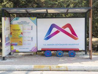 Themed Bus Stops from Mersin Metropolitan