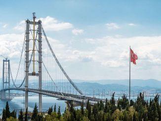 向Osmangazi橋支付1,7億里拉的擔保金