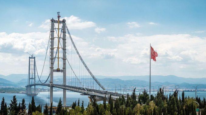 Εγγύηση 1,7 δισεκατομμυρίων λιρών στη γέφυρα Osmangazi
