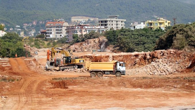 Alanya New Ring Road Joins D-400 Highway