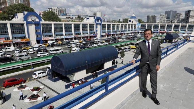 Невероятната промяна на голямата автогара в Истанбул за 1 година
