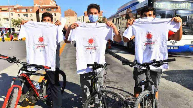 Awareness T-Shirts Against Coronavirus Attracts Intense Interest In Ankara