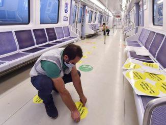 Social Distance Application in Public Transport Vehicles in Ankara