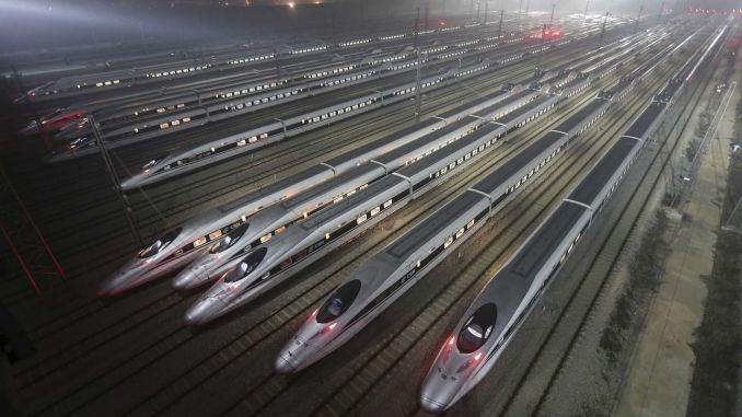 The First Record Of The Year In Railway Travel In China