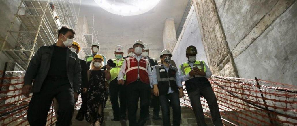 Dudullu Bostancı Metro Hattında Çalışmalar Yeniden Başladı
