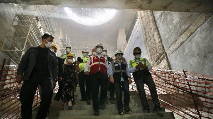Prace na linii metra Dudullu Bostancı rozpoczęły się ponownie