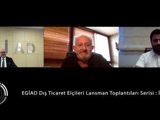 """EGİAD Diesmal behandelte er Italien mit """"Außenhandelsbotschaftern"""""""