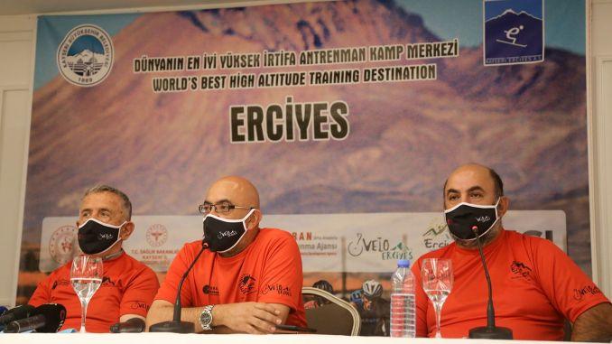Erciyes國際公路和山地自行車比賽開始