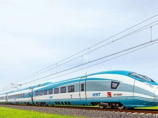 Drsanje po železnici Erzincan Trabzon, dvignjeno Trabzon