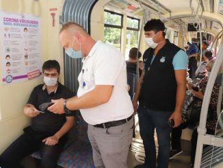 Inspektioner på spårvagnar ökade i Eskişehir