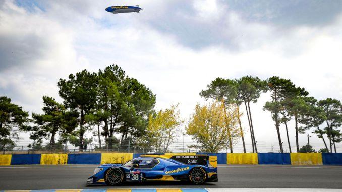 Goodyear ukoronował swój sukces podwójnym podium w 24-godzinnym wyścigu Le Mans