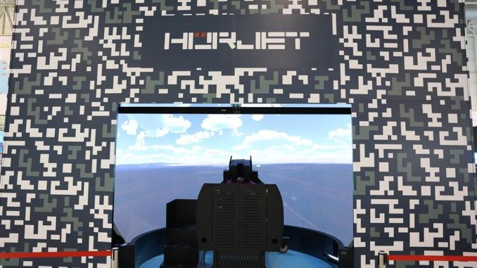 HÜRJET Simulator Will Take Its Place In Teknofest For The First Time