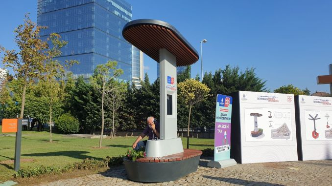 Special Urban Furniture for Earthquake Park from İSTON
