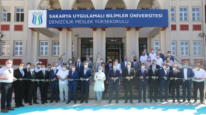 The Opening Ceremony of Kocaali Maritime Vocational School was Held