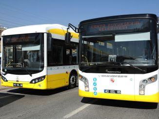 Konya Metropolitan Municipality wird Busfahrer kaufen