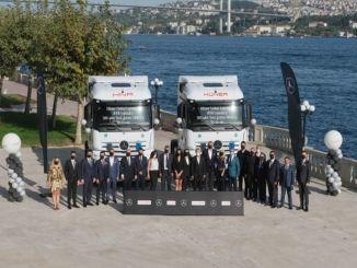 A Mercedes-Benz Türk ebben az évben teljesíti a legnagyobb teherautó-szállítást