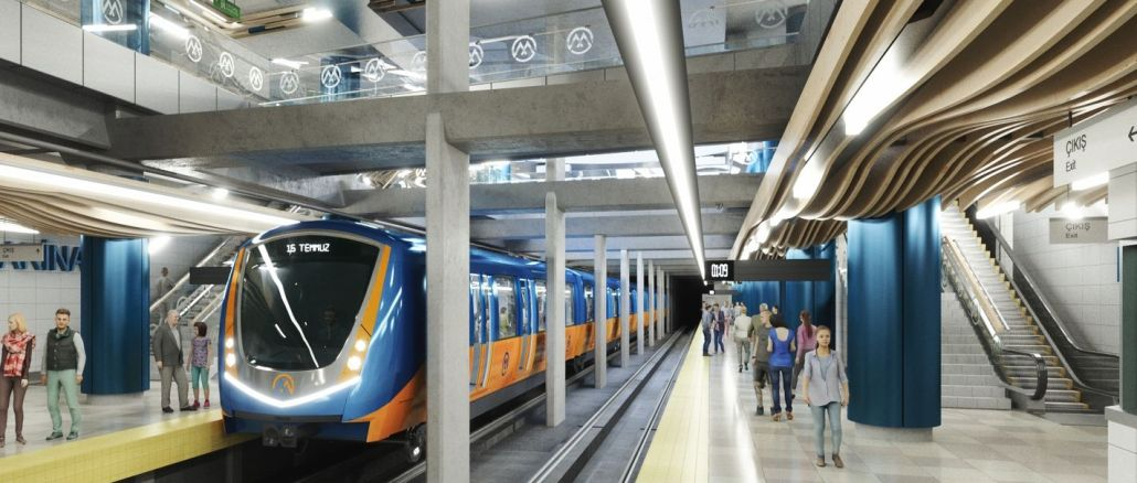 Mersin Metrosu İçin 9 Ekim'de İhaleye Çıkılıyor