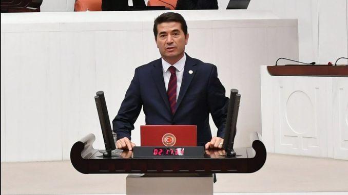 Deputy Kaya Moved Erzincan Trabzon Railway to Parliament
