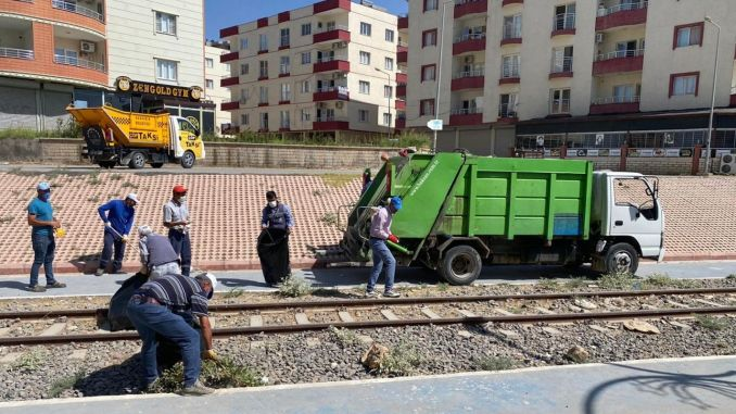Historical Railway Environment Cleansed in Nusaybin