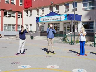 学校での対面教育は非接触型ゲームから始まります