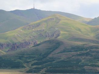 Where is Palandöken Mountain in Erzurum Province and How Was It Created?
