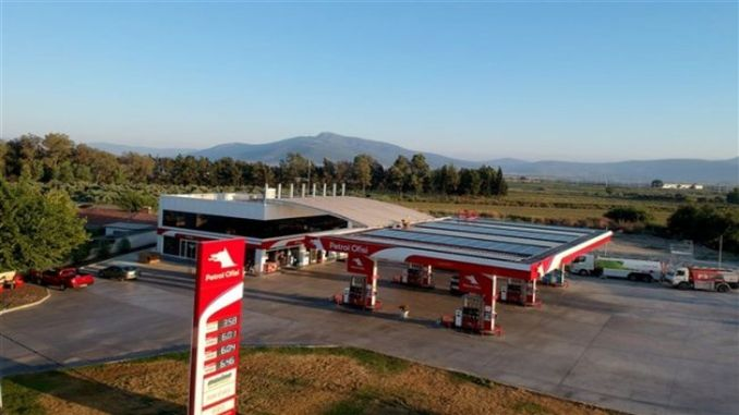 Petrol Ofisi Solar-Powered Stations Increases