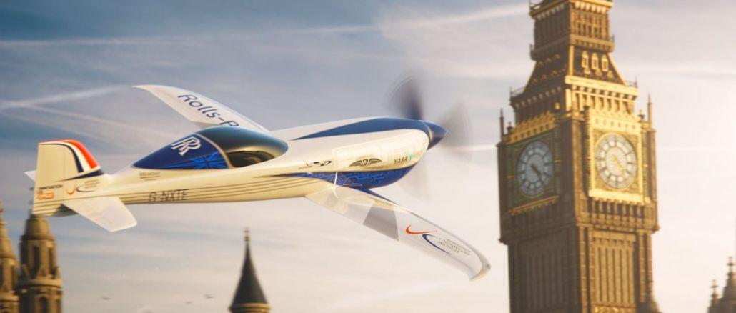 Rolls-Royce, Hız Rekoru Kıracak Elektrikli Uçağını Tanıttı