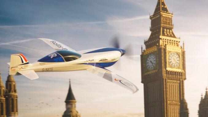 Rolls-Royce представляет электрический самолет, который установит рекорд скорости