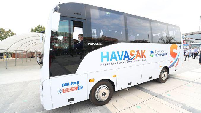 HAVASAK Πτήσεις Ξεκίνησαν από Sakarya προς Sabiha Gökçen Airport