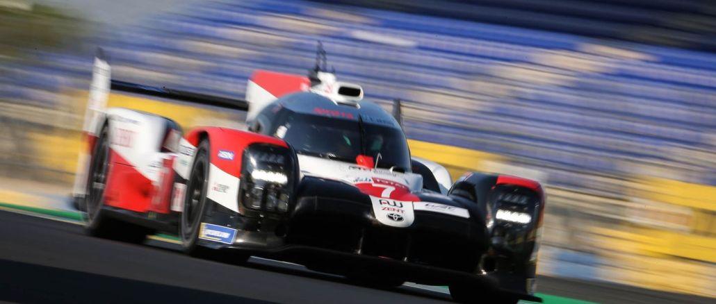 Seyircisiz Le Mans 24 Yarışlarında Toyota Gazoo Racing'den Görsel Şölen