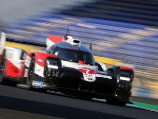 ルマン24レースでのトヨタガズーレーシングによる視覚的なごちそう
