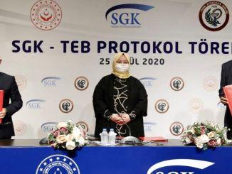 Protocolo de compra de medicamentos firmado entre SGK-TEB