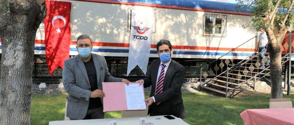 TCDD 7.Bölge Müdürlüğü ile Raysimaş Arasında Protokol İmzalandı