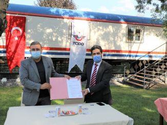 Protokollt írtak alá a TCDD 7. regionális igazgatósága és Raysimaş között