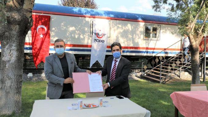 Protokol ditandatangani antara Direktorat Regional 7 TCDD dan Raysimaş