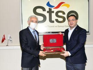 Visita de TÜRASAŞ a Sivas TSO