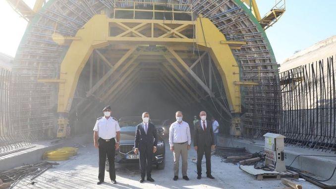 Губернатор Билгин, Halkalı Железнодорожная линия Капыкуле была исследована