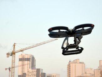 Первый летающий автомобиль Турции Джазари поднялся в воздух
