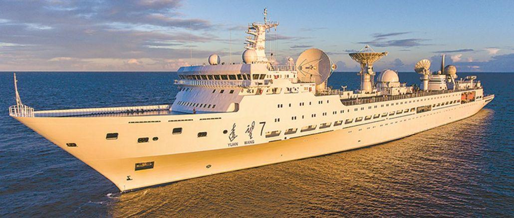 Uzay Gözlemi Gemisi Yuanwang-5, Pasifik Okyanusu'nda Yeni Bir Göreve Çıktı