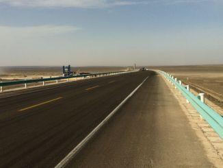 28 miljard yuan transportinvestering in de autonome regio Xinjiang Uygur