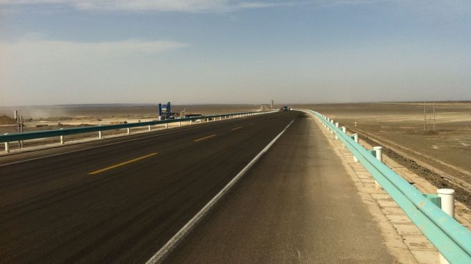 28 milliarder Yuan transportinvesteringer til Xinjiang Uygur autonome region
