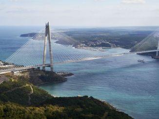 出售Yavuz蘇丹Selim橋到中國冠狀病毒!