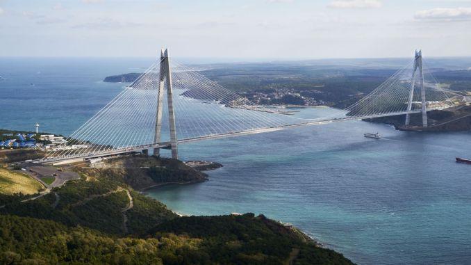 Prodej mostu Yavuz Sultan Selim Bridge Číňanům přilepeným na Coronavirus!