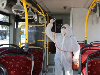 550 Public Transport Vehicles Are Disinfected in Antalya