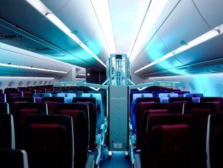 Qatar Airways Kabinen-UV-Reinigungssystem