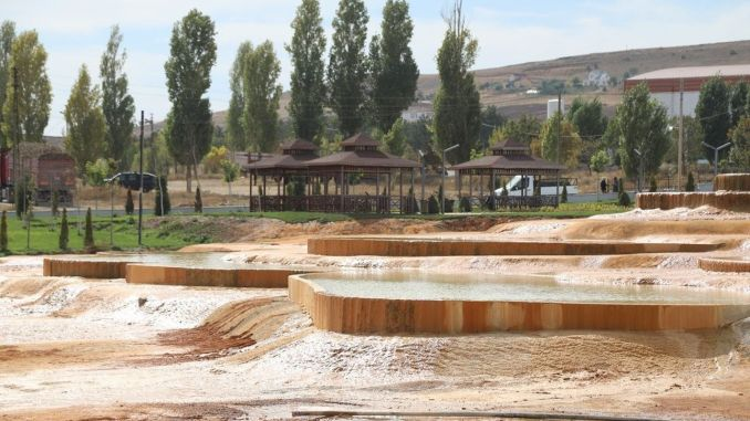 Altınkale Project Similar to Pamukkale Travertines Completed!